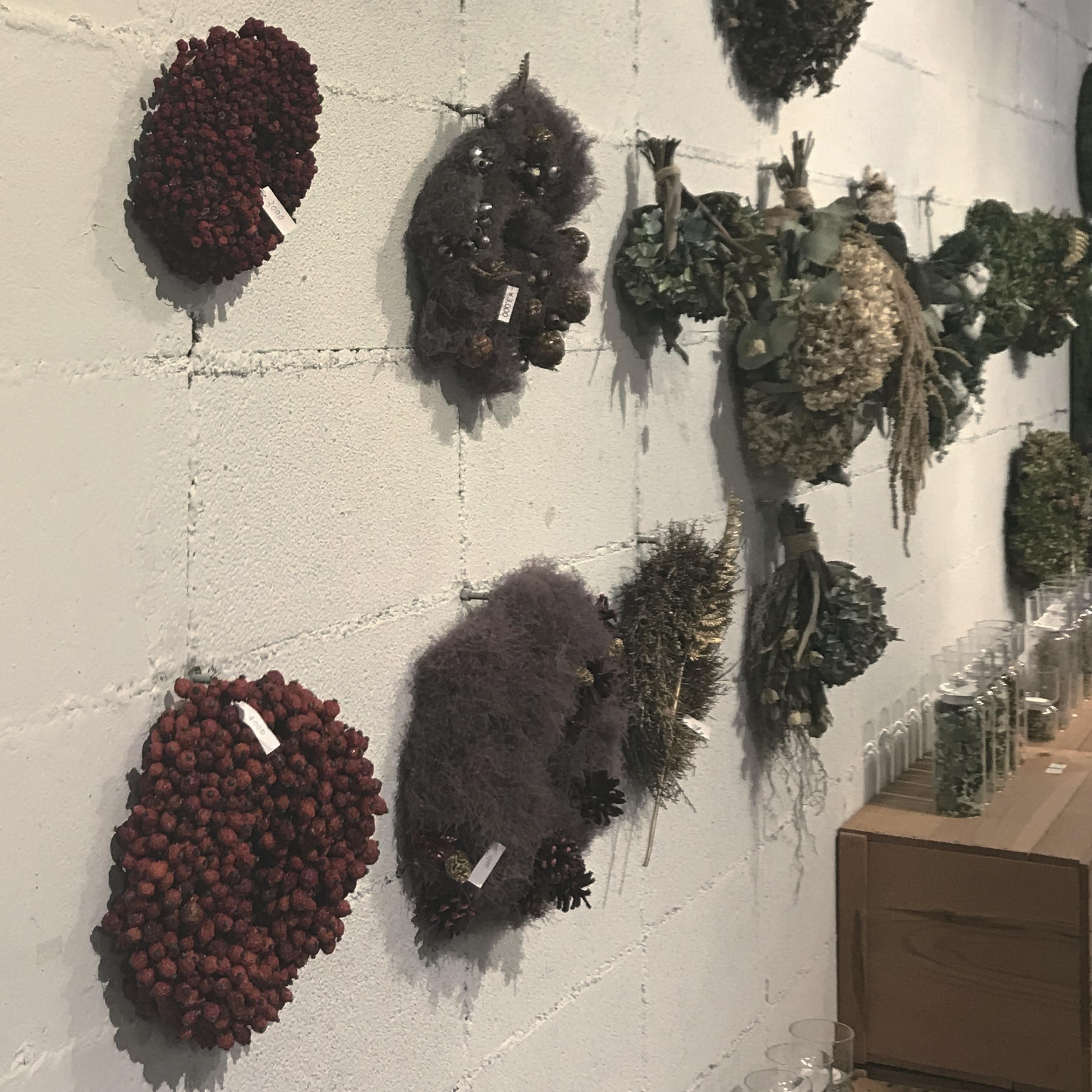 ORNI『クリスマスリース&正月飾り展示』